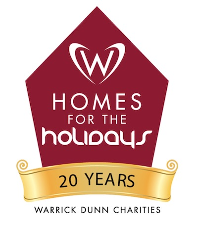 Homes for the Holidays logo links to Homes for the Holidays program page