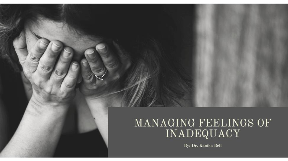 Managing Feelings of Inadequacy